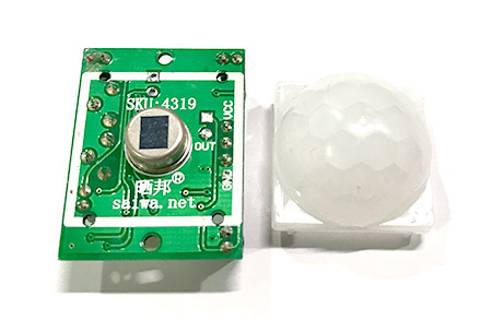 Webduino 人體紅外線偵測點燈