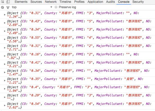 Webduino Opendata